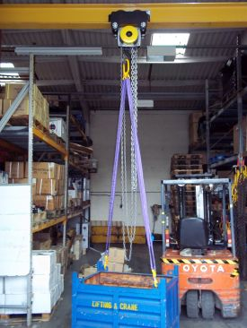 Multi-leg Webbing/Round Lifting Slings