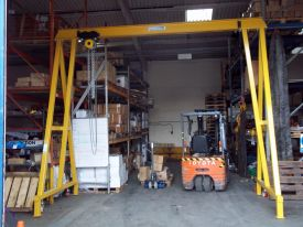 mobile gantry